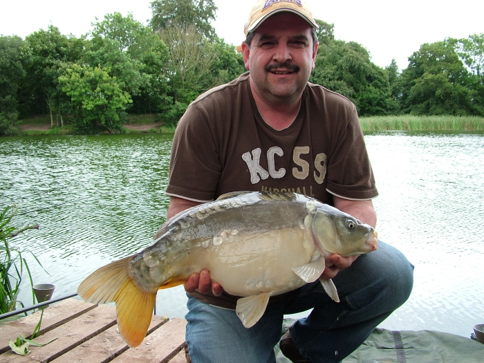 Jerry Adams S Fishing Diary Mirror Carp Fishing At Howle