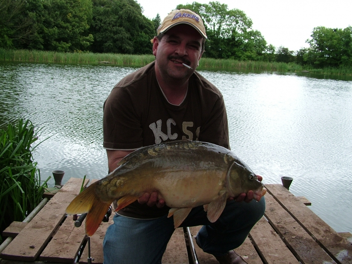 Jerry Adams S Fishing Diary Mirror Carp Fishing At Howle Pool Newport Shropshire West