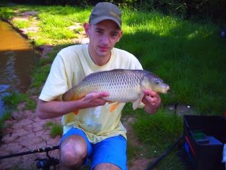 Carp fishing in crewe