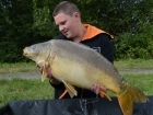 Tim Axten 28lbs 4oz Mirror Carp from Morgane - Bigot Lakes