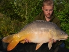 Daniel Smith 23lbs 12oz Mirror Carp, Quest Baits Rahja Spice.. In total we had around 100 fish between us in two weeks fishing at Mas Bas. We didn't fish all the time, it was a great all round family