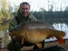 Matt Collins 30lbs 12oz Mirror Carp from Beausoleil using Bankside Tackle's 20mm D-Liver.. For more info: www.frenchcarpandcats.com
