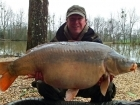 Matt Collins 43lbs 0oz Mirror Carp from Beausoleil using Bankside Tackle's 20mm D-Liver.. For more info: www.frenchcarpandcats.com