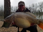Matt Collins 30lbs 0oz Mirror Carp from Beausoleil using Bankside Tackle's 20mm D-Liver.. For more info: www.frenchcarpandcats.com