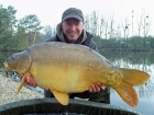 Matt Collins 27lbs 4oz Mirror Carp from Beausoleil using Bankside Tackle's 20mm D-Liver.. For more info: www.frenchcarpandcats.com