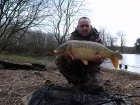21lbs 0oz Mirror Carp from Anglers Paradise using richworth.. weeks fish very cold n e wind had 21lb ,18lb,16lb,16lb 8oz fish between four to five hour a day