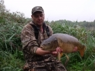 21lbs 6oz Mirror Carp from bishops bowl fishery using dynamite.. weeded  me for a good ten mins manged to win the battle