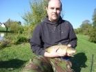Alex Bye 5lbs 0oz Common Carp. Fished on the drop using loaded waggler
