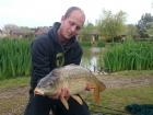 Craig Mcmanus 16lbs 15oz Common Carp, Mainline with a carp company pop up.