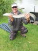 3lbs 9oz Eel from tetney lincolnshire. got this on mackerel  head , only went for this just to target something else for a change.