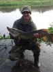 Wally Pickering 7lbs 7oz Pike from river idle. the river idle was running really high today as I got this pike on deadbait..well impressed with the colours...