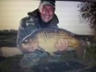 Wally Pickering 21lbs 3oz Common Carp from river idle. hi got this commom carp on six hair rigged sweetcorn from the river idle..