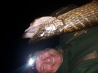 Wally Pickering 15lbs 7oz Pike from river idle. got this pike on the river idle weight 15lb 7oz am sure I have had this pike before..