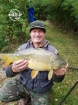 10lbs 2oz carp from pond east riding. hi I got this carp fishing for them and large roach in a friends pond east riding .great markings.
