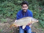 Sudhir Meneaud 6lbs 0oz Common Carp from Sweet Chestnut Lake. Matrix plus boilie