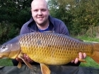 Andrew Taylor 26lbs 2oz Common Carp, Natures Bait White Ice Wafter.