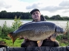James Cracknell 27lbs 3oz Common Carp from Baden Hall Fisheries