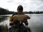 Damian Cyples 11lbs 1oz Ghost Carp from Cudmore Fisheries