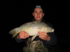 Damian Cyples 10lbs 3oz Mirror Carp from Cudmore Fisheries using Kent Particles Pineapple.