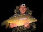 Damian Cyples 23lbs 1oz Mirror Carp from Cudmore Fisheries using Kent Particles Pineapple.