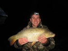 Damian Cyples 15lbs 5oz Common Carp from Cudmore Fisheries using Kent Particles Pineapple.