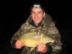 Damian Cyples 9lbs 14oz Mirror Carp from Cudmore Fisheries using Kent Particles Pineapple.