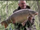 Andy Laurie 37lbs 8oz 8dr Carp from Sweet Chestnut Lake using Mainline Quad.. boilie loose fed, dropped in edge
