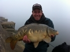 Richard Costello 18lbs 0oz Mirror Carp (Fully Scaled) from Drayton Reservoir using Mainline Tutti Frutti 10mm.