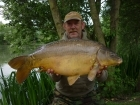 Kevin Righton 25lbs 12oz Mirror Carp from Rookley Country Park using C.C Moore's Live System.