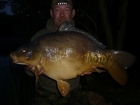 Kevin Righton 30lbs 4oz Mirror Carp from Rookley Country Park using C.C Moore's Live System.
