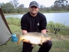 Steven Nott 17lbs 7oz 1dr carp mirror from Spring Rock Fishery