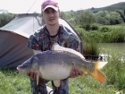 Steven Nott 16lbs 2oz Mirror Carp from Spring Rock Fishery