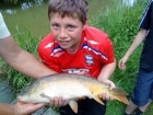 Joe North 11lbs 5oz Mirror Carp from barby banks using kingsmill.
