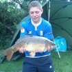 12lbs 3oz carp from barby mill pools