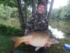 Colin Goletto 33lbs 8oz Mirror Carp from Sweet Chestnut Lake