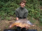 Colin Goletto 27lbs 8oz Mirror Carp from Sweet Chestnut Lake