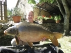 44lbs 2oz carp from Millers French Fishing Holidays - Etang Hirondelle