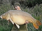 34lbs 0oz Mirror Carp from Roseau using ( No Wait On Bait ) Fizz Bottom Bait / Appretite Pop Up.