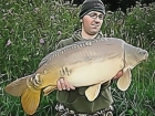 26lbs 0oz Mirror Carp from Roseau using ( No Wait On Bait ) Fizz Bottom Bait / Appretite Pop Up.