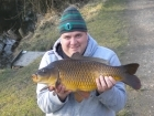 10lbs 13oz Common Carp from Tackeroo using Pyramid tutti frutti.