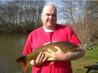 9lbs 2oz Common Carp from Millride Fishery using Mainline Cell.