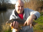3lbs 7oz Mirror Carp from Millride Fishery using Mainline Cell.