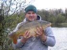 12lbs 1oz Common Carp from Turf pool using Mainline Cell.
