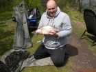 3lbs 9oz Bream from Calf Heath Reservoir using Mainline Cell.