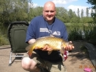 9lbs 6oz Common Carp from Turf pool using Mainline Fusion.