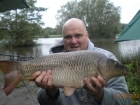 11lbs 1oz Common Carp from Turf pool using Mainline Cell.