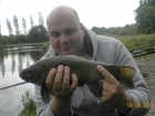 2lbs 14oz Tench from Turf pool using Mainline Cell.