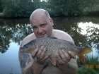 4lbs 13oz Common Carp from Millride Fishery using Dynamite Green Lipped Mussel.