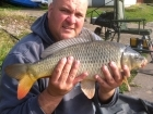 5lbs 3oz Common Carp from Calf Heath Reservoir using Mainline Cell.