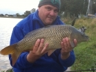 9lbs 10oz Common Carp from Calf Heath Reservoir using Mainline Cell.